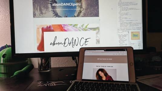 The abunDANCE Peru Website