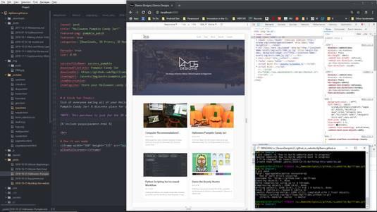 Building a Portfolio Website w/ Ruby + Jekyll