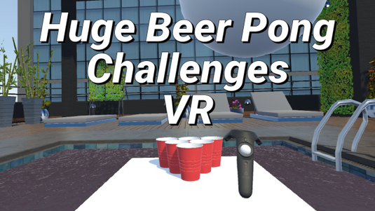 Huge Beer Pong Challenges Virtual Reality